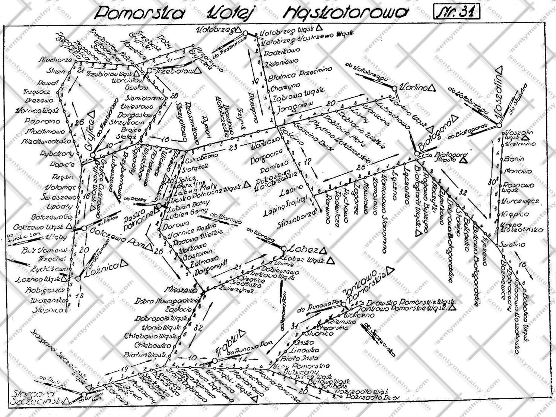 plan kolejki z 1959 roku. <br> większa rozdzielczość - tutaj